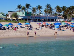 Plage de Lauderdale by-the-Sea